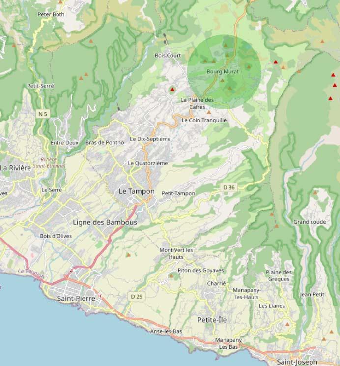Bourg-Murat: La route du volcan.