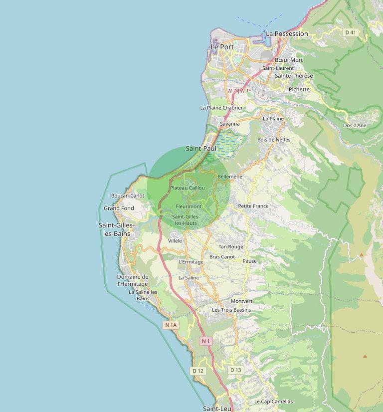 Quartier Plateau Caillou : Un quartier entre mer et montagne