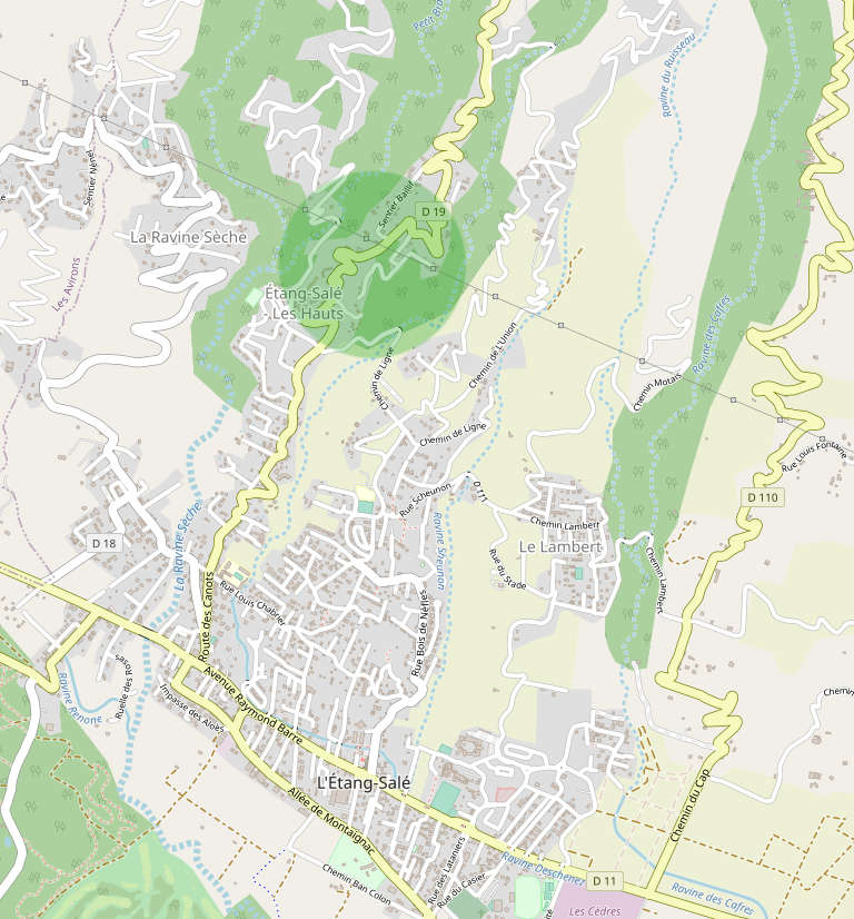 Le quartier de Canots : Un grand village pourvu de nombreuses infrastructures