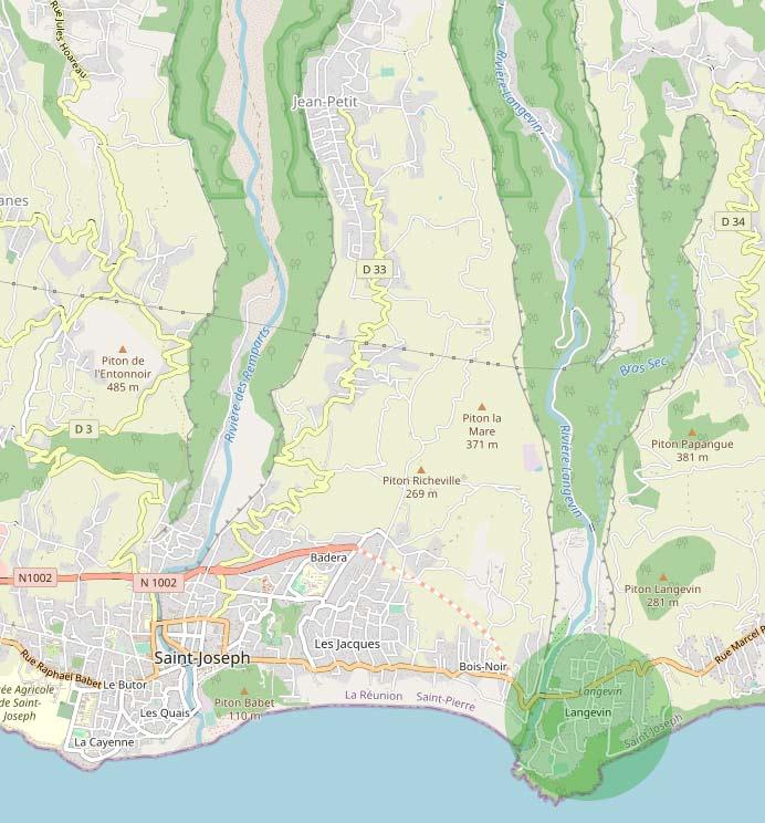 Langevin immobilier et sa rivière près de Saint Joseph