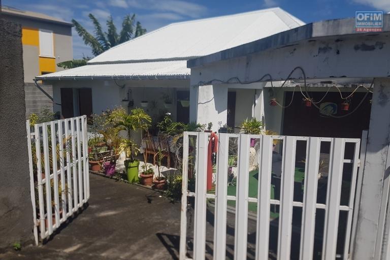 A VENDRE villa F3 jumelée à LA RAVINE DES CABRIS