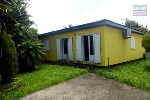 A VENDRE// Jolie villa de type F4 de 80m2 sur un terrain de 310m2 sur Bras -Panon à 212 000 euros!