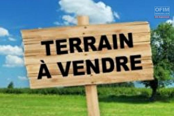 terrain 800m2 dos d'ane possession