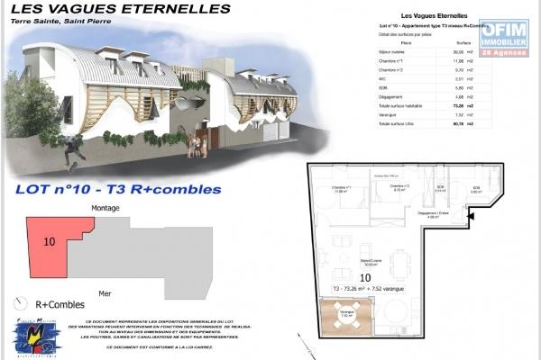 APPARTEMENT F5  DUPLEX TERRE SAINTE