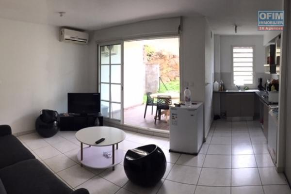 Appartement T2 en RDC de 42.30 m² de surface habitable + varangue, jardin privatif et piscine collective dans la Résidence Kaz Nature