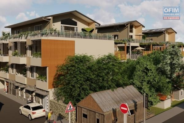 Vends en VEFA des appartements T4 avec vue mer et montagne proche du centre ville de St Leu et de la plage