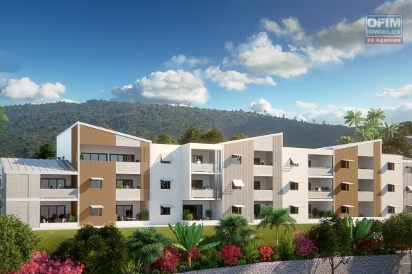 Appartement T3 en VEFA à Terre Sainte en cours de construction à 100 m de la plage et du vieux port.