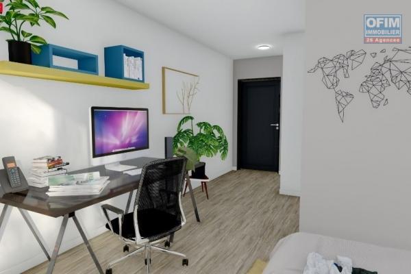 DEFISCALISATION PINEL à vendre studios de 25 m² plus varangue et balcon dans la résidence Campus OI au coeur de la technopole de St Pierre