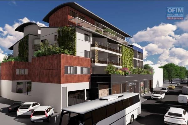 A vendre appartement défiscalisable de type 3 à Saint Denis avec vue mer.