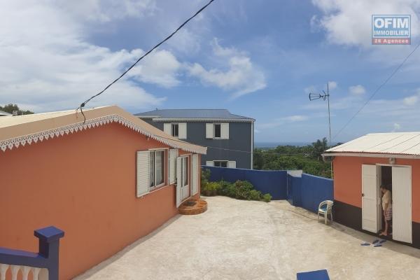 A vendre villa F4 sur terrain de 1100 m2 rare sur le secteur