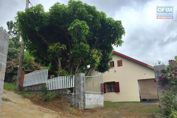 a louer bungalow F3 a villele, situation calme