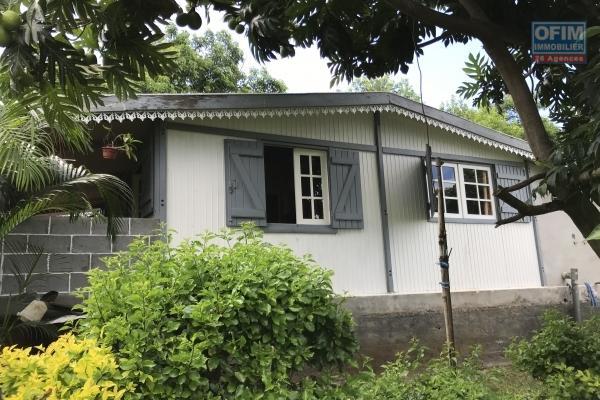 Maison type case Tomi F3 sur terrain de 715 m2 Rivière St Louis