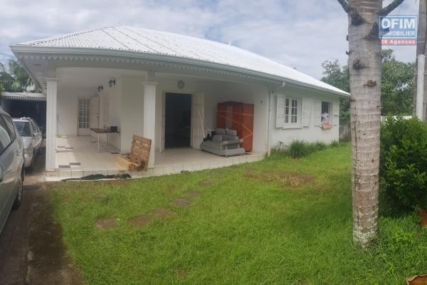 à louer villa F4 récente sur Bras Panon