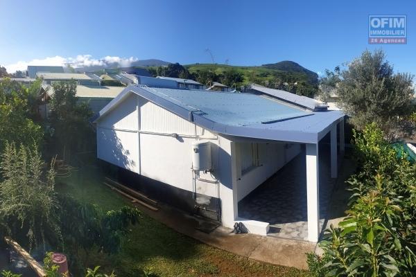 Maison F5 de 100m2, jardin, terrasse