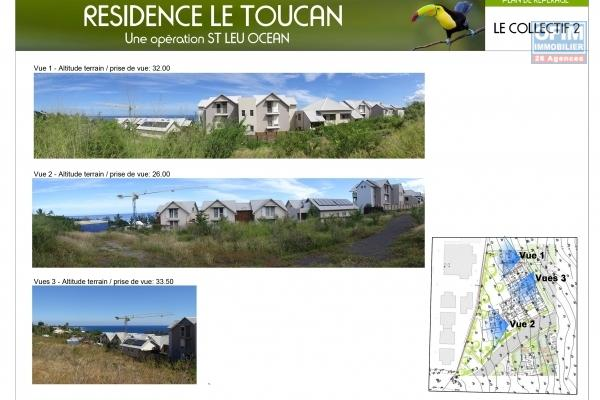 Appartements T3 de standing à 200 mètres des plages.
