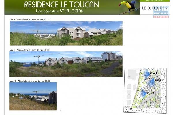 Appartements T3 et T4 de standing à 200 mètres des plages.