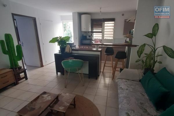 A LOUER// Bel appartement de type F2 de 41m2  avec jardin privatif sur la Saline Les Bains à 780,00 euros!!