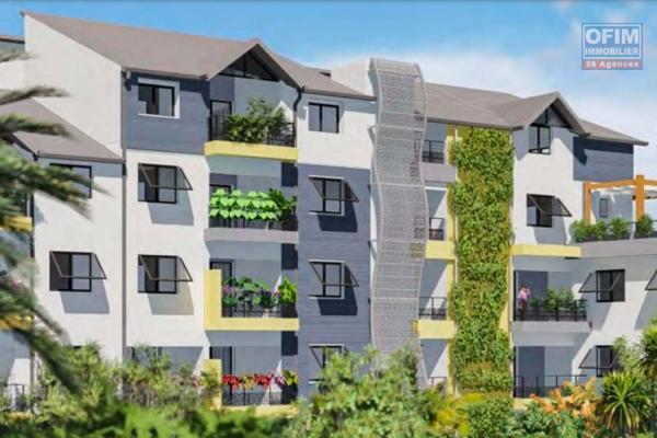 A vendre dans nouvelle résidence neuve du F2 au F4 à ST PIERRE-CENTRE