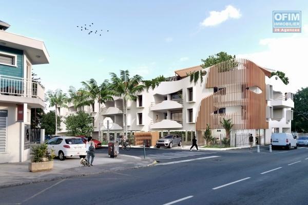 Appartements T4 centre ville de St Leu à 50 mètres du lagon