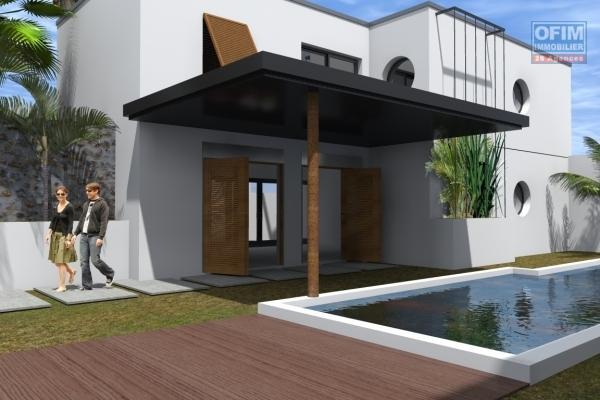 A vendre villa neuve de type 4 avec piscine à la possession.