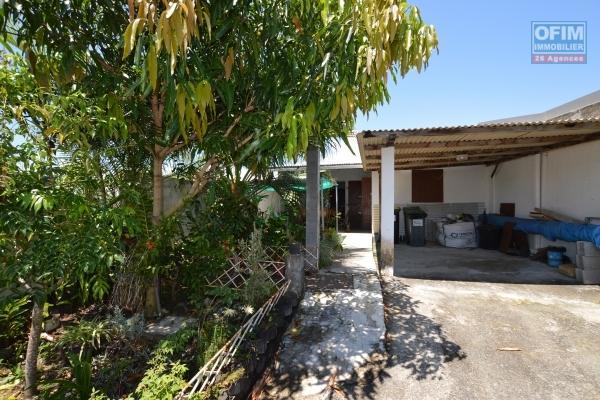 ofim vous propose à la vente cette maison F4 de 72 m2 habitable, sur un terrain de 195 m2, à saint benoit, bras fusil.