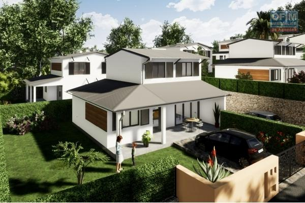 8 Villas 4 pieces en construction (VEFA) Piton st Leu