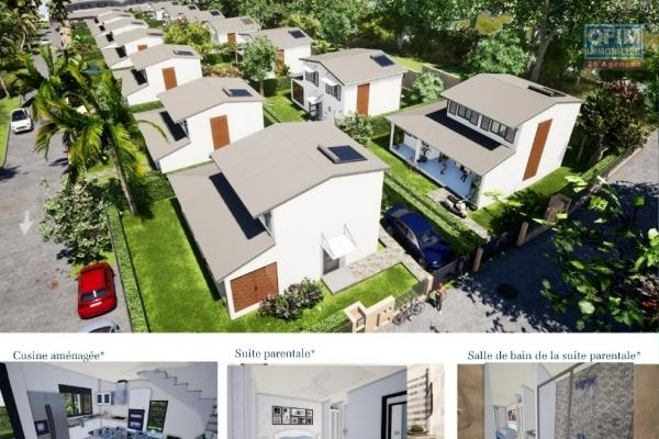 6 Villas 4 pièces en construction (VEFA) Piton st Leu, proche du Leclerc Portail et de toutes commodités