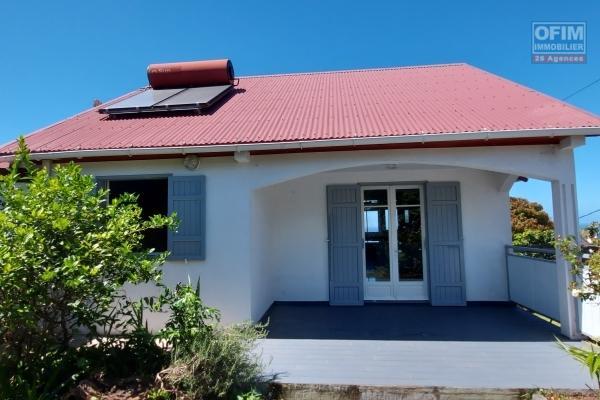 Villa 110 m2, jardin, vue mer et montagne