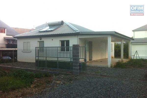 Villa F4 récente sur Bras Panon