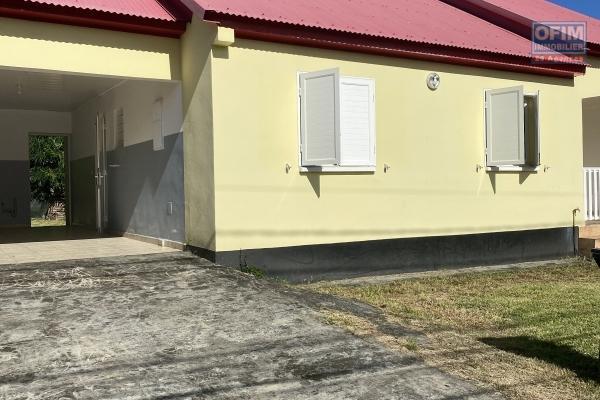 A louer villa F4 de 95m2 secteur Bras panon
