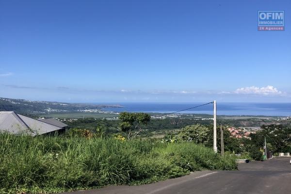 A vendre terrain avec vue mer à la possession de 508 m2.