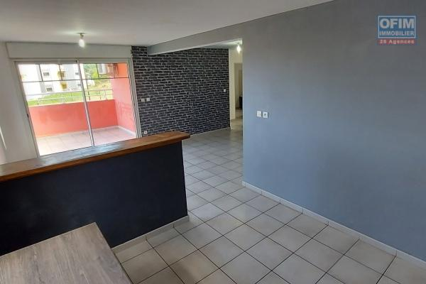 Appartement F3 de 59,54 m2, jardin de 100 m2, terrasse