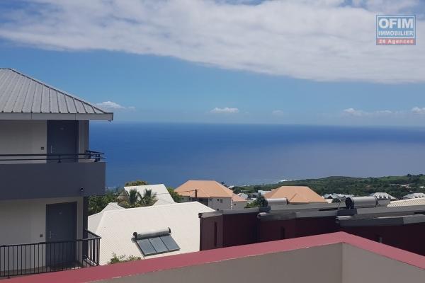 A Louer villa F4 belle vue neuve aux Avirons dans une résidence sécurisée