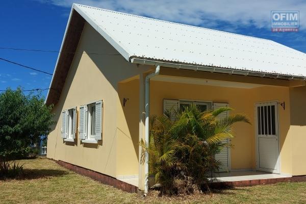 Maison F3 de 67 m2, vue mer et montagne, jardin