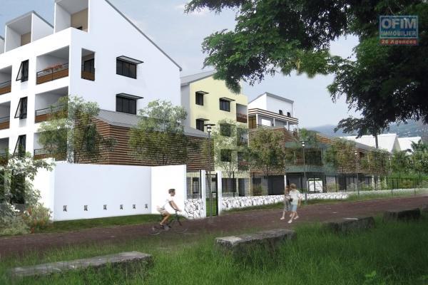 A vendre appartement neuf de type 3 accessible au primo accédant à l'Étang St-Paul ( cocoteraie ).