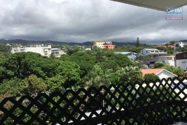 A louer un joli appartement T3 avec belle vue montagne et parking sous terrain à Saint Denis - Montgaillard - Résidence Grenadine