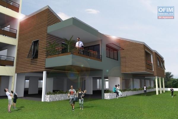 A vendre appartement T5 défiscalisable à l'Etang Saint- Paul à partir de 350 000€.