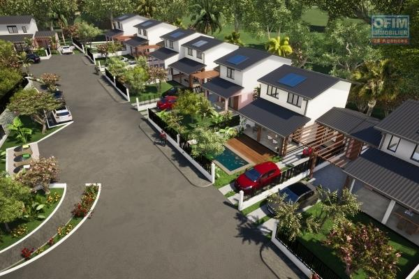 5 Villas 4 pièces en construction VEFA, St Pierre.